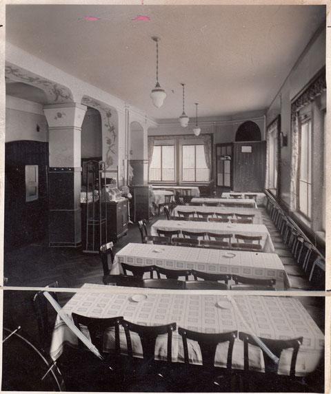 Innenraum vor dem 2. Weltkrieg - Foto: Photo-Schaap Schweinfurt - Danke an Yüksel Tas
