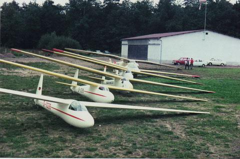 Der Flugzeugpark 1967