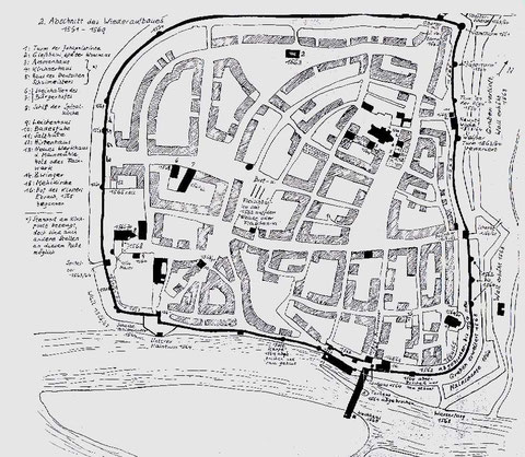 Der zweite Abschnitt des Wiederaufbaus (Anhang 3)1561-1569  - bitte vergrößern!