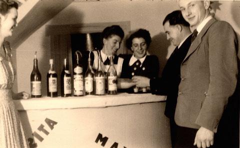 Brückenbräukeller Bar in den 1950ern