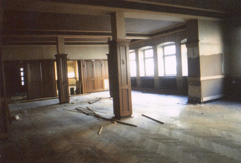 Innenraum vor dem Abriss - Danke an Karl-Heinz Hennig