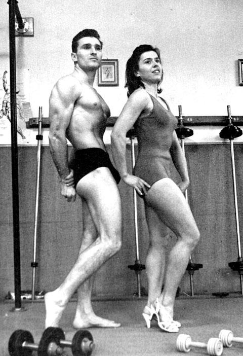 Harry und Elly Gelbfarb - wohl Ende der 1950er-Jahre