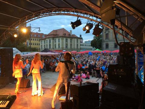 Abends am Schillerplatz 2014 - danke an Schweinfurt erleben e.V.