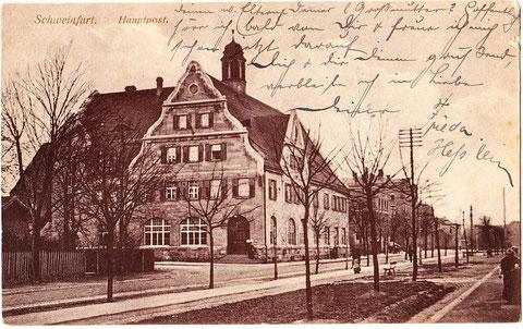 Hauptpost um 1915