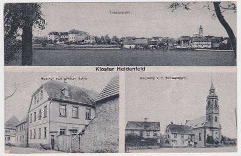 Kloster 1920 - Vielen Dank an Herrn Robert Knaup