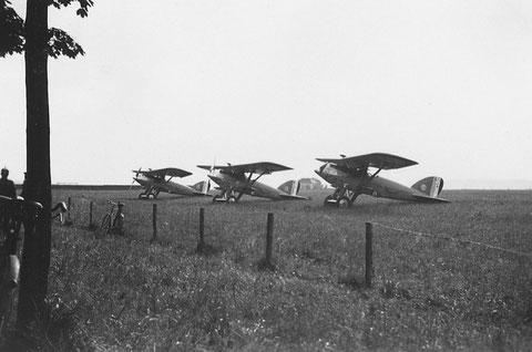 """1931 - drei """"Franzosen"""" in Schweinfurt"""