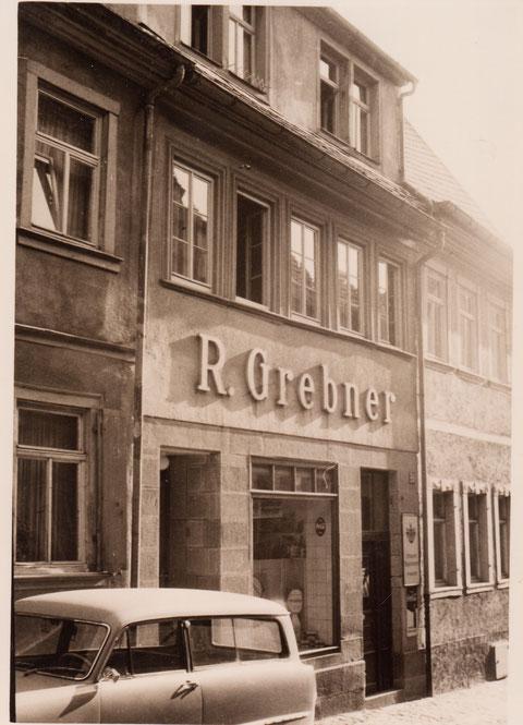 Judengasse 25 - Hier steht heute das Friederike-Schäfer-Wohnheim