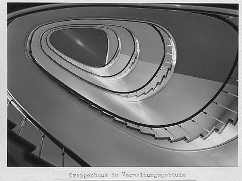 Treppenhaus im Verwaltungsgebäude