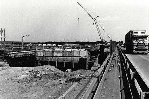 Bau der A 70