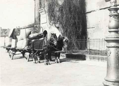 Am Zeughaus in den 1930ern