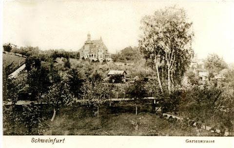 Gartenstraße um 1906