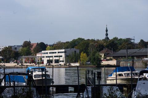 Blick zur Mainlände - Oktober 2014