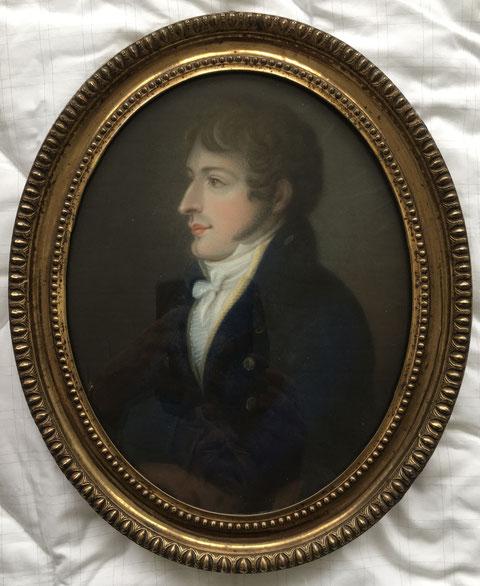 Wilhelm Sattler im Jahre 1809 - Danke an Herrn Bernd Strathausen