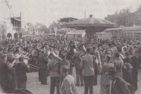 Auf dem Bleichrasen ca. 1958