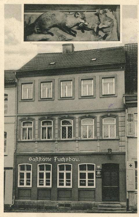 Georg-Wichtermann-Platz Fuchsbau 1939