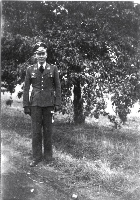 4. schw. Flakabteilung Schweinfurt - Deutschhof - Leutnant Grunau