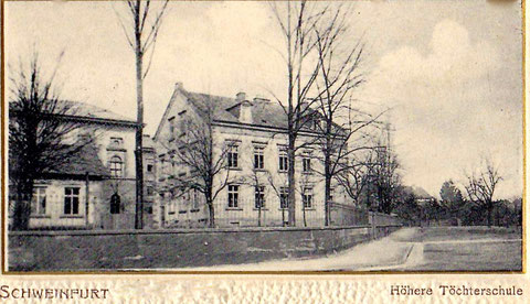 Postkarte ca. 1903 - An den Schanzen 16