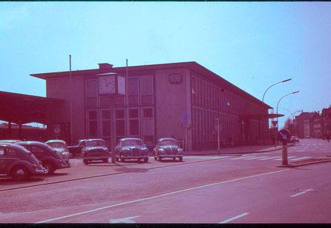 Der Hauptbahnhof in den 1970ern