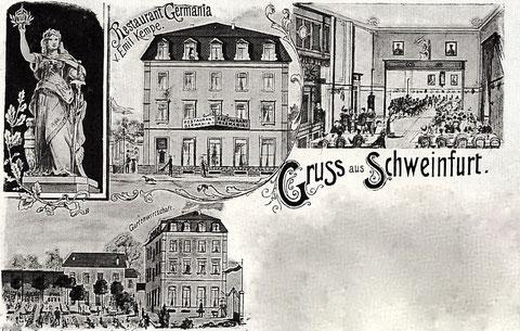 Restaurant Germania - bitte vergrößern!