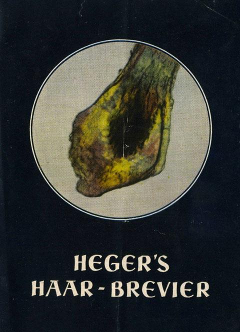 """Das """"Brevier"""" des Wilhelm Heger"""