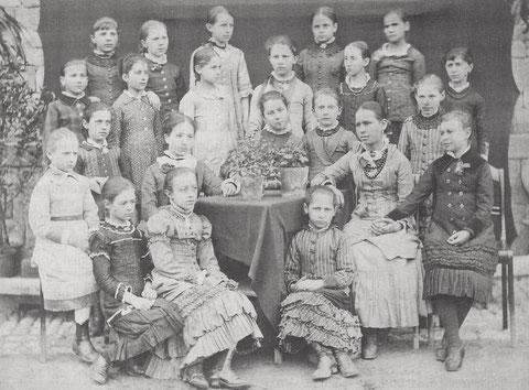 Die 1. Klasse 1881/1882
