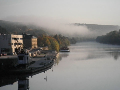 Nebel auf dem Main - 2012