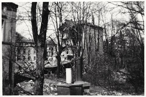 Nach dem Luftangriff vom 24. Februar 1944