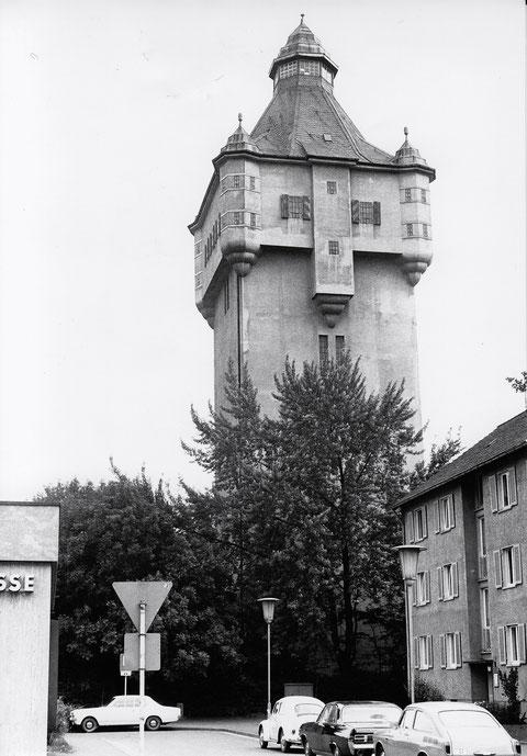 Der Wasserturm am Bergl