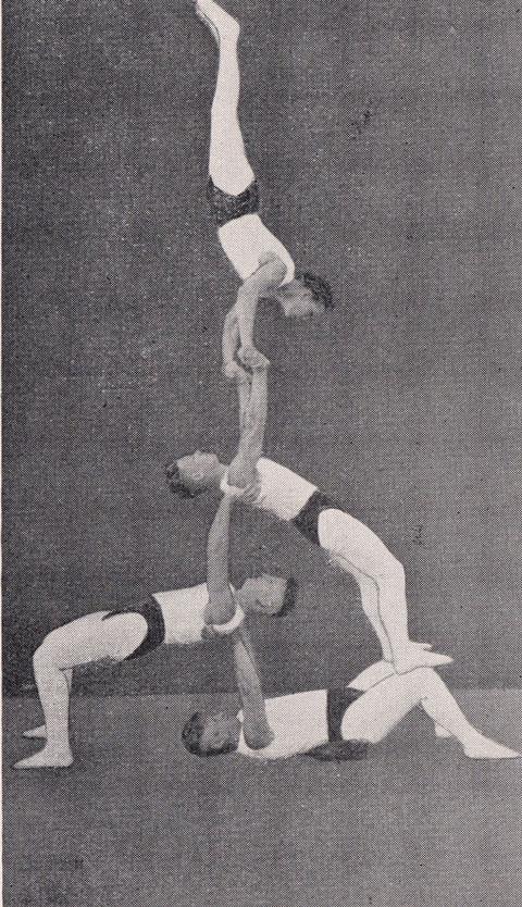 Akrobatengruppe 1933