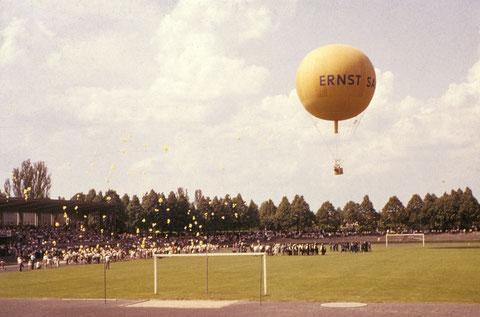 7. Juni 1959 - Aufstieg des Ballons Schweinfurt