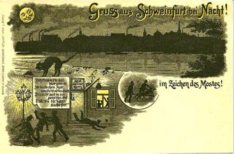 Im Zeichen des Mostes - Zecher in Schweinfurt