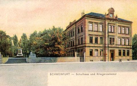 ca.1905 - Steinwegschule, heute Musikschule)