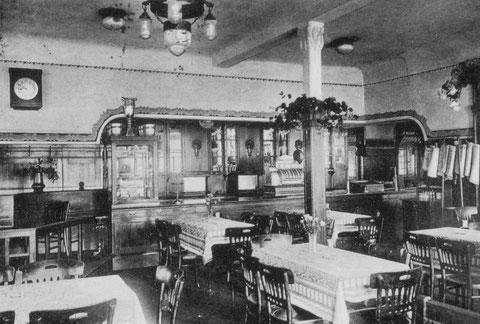 Innenraum, in etwa 1920-1925