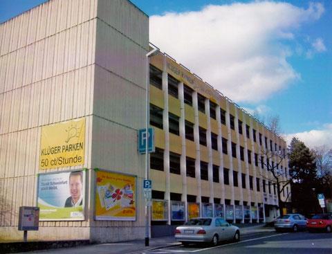 Hadergasse Schweinfurt - Altes Parkhaus an der Stadtmauer