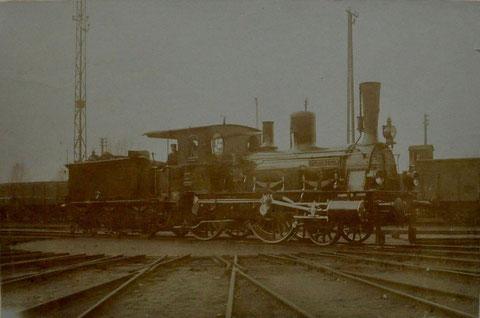 1903 auf Drehscheibe in Schweinfurt