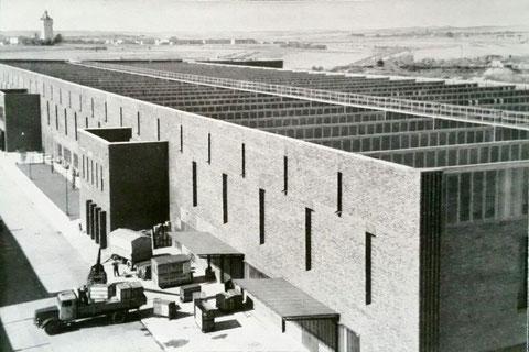 Fertigungshalle 1950er