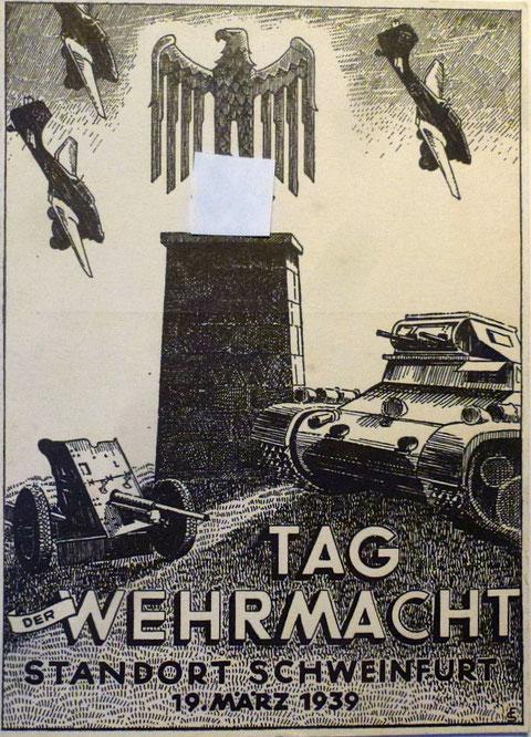 19.März 1939 - Tag der Wehrmacht in Schweinfurt
