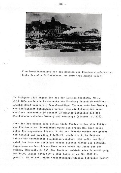 Der Fischerrain und seine Geschichte - Facharbeit ...