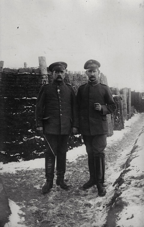 Bat. Schweinfurt; Winter 1917/1918