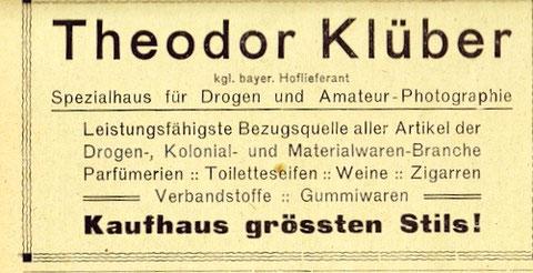 aus Adressbuch 1921