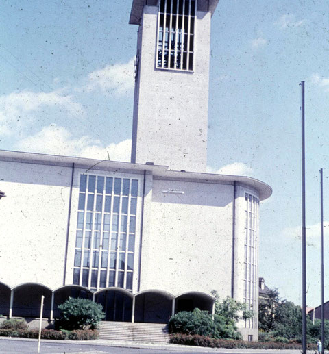Die Kilianskirche Anfang der 1960er