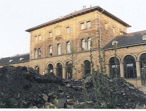 In Schweinfurt wurde der alte Stadt(tt)bahnhof zu einem festen Bestandteil der kulturellen Szene