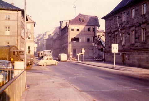 Deutsches Haus Brückenstraße Abriss 1956