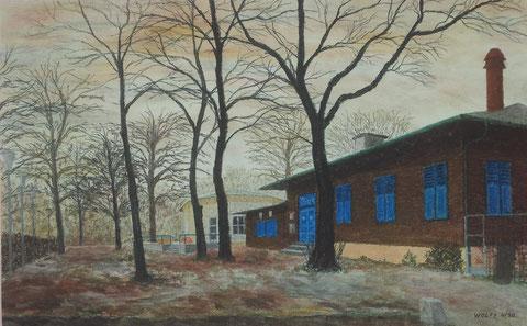 Gemälde von Eberhard Wolff, danke an Kurt und Margarete Fleischmann