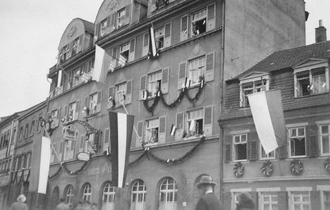 1933 - Manggasse Gasthof Roter Ochse