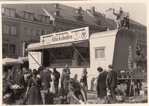 Rückert blickt auf den guten alten Glückshafen in den 1950ern - Danke an Willi Müller
