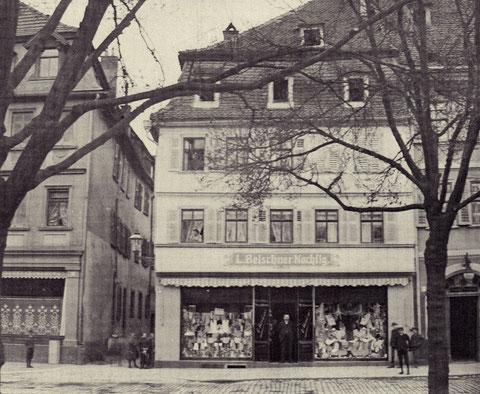Marktwestseite mit Stadtknechtsgasse