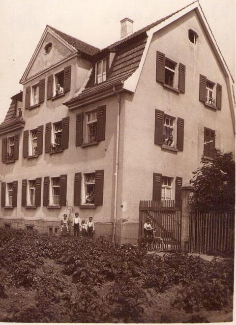 Das Haus der Grimmers - Breite Wiese 4 Schweinfurt - erbaut 1912