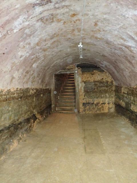 Blick zurück Richtung Aufgang Nr. 2