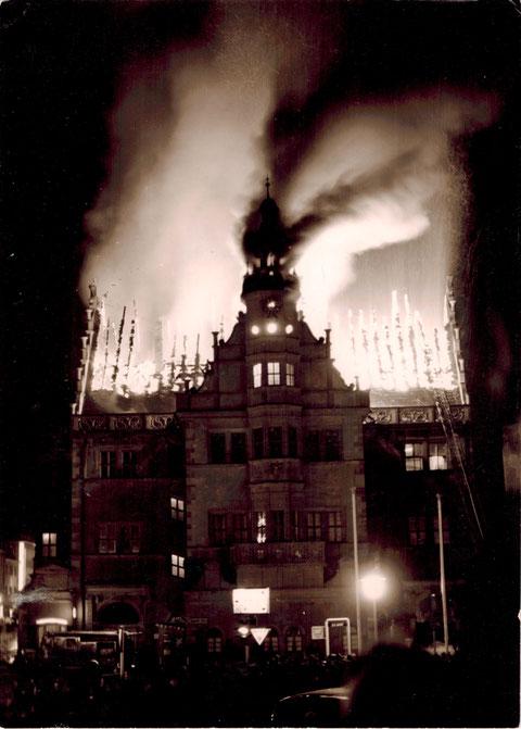 Der Rathausbrand 1959